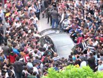 PM's car attacked in Soma