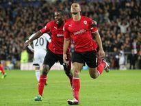 Steven Caulker Cardiff City Goal