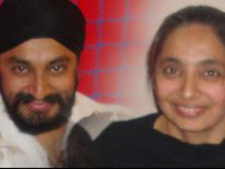 Kulwant Singh and his sister Ravel-Kaur Singh