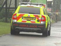 Birmingham bus stabbing scene
