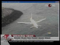 The Bali plane overshot the runway
