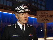Metropolitan Police Commissioner Sir Bernard Hogan-Howe