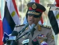 Army chief General Abdel Fattah al Sisi