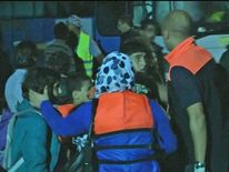 Syrian migrant boat rescued off Lampedusa