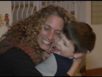 usa WATERFORD Wisconsin autistic boy Caeden Lowe and his mother Stephanie Lowe