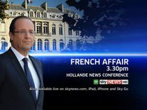 Francois Hollande Press Conference Promo