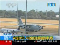 Chinese military plane finds possible debris from Malaysia jet