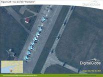Nato release digital Globe satellite images of Russian Military on Ukraine border