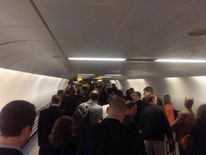 Long queues at Gatwick Airport after IT glitch