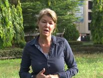 Alex Crawford in Abuja, Nigeria