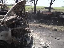 At least 11 Ukrainian troops killed at a military checkpoint