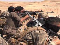 Iraq Kurdish Fighters Attack ISIS Near Jalula Town