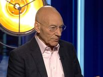 Actor Patrick Stewart on Sky's Entertainment Week
