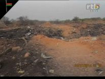 Images from the crashed plane in Mali