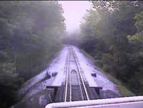 The train comes to a halt