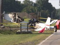 Plane crash in rural Ohio
