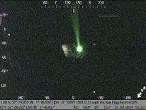 Laser Pen targets police helicopter