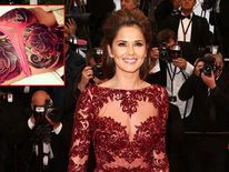 Cheryl Cole's tattoo revealed by artist