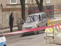 Infant shot and killed in Chicago (Credit: WFLD-TV)