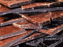 Chocolate bars at the Salon du Chocolat