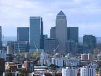 Canary Wharf financial district