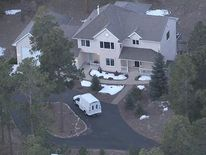 Tom Clement's house. Pic: KMGH-TV