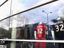 Paris Saint-Germain club shop.