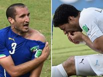 Chiellini Suarez composite picture