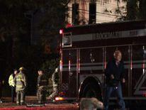 Atlanta/Conyers Fire Credit: WSB-TV