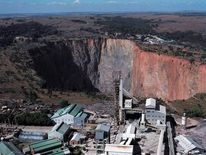 The Cullinan mine in South Africa