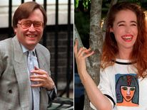 David Mellor and Antonia de Sancha in 1992
