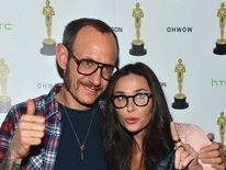 Terry Richardson and Demi Moore