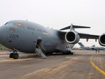 RAF C17 aircraft departs for Mali mission