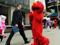 Beloved Childhood Costumed Characters Become Times Square Bullies
