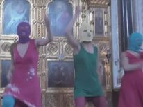 "Three punk rockers from the band ""Pussy Riot"" went on trial in Moscow on July 30, 2012."