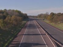 M1 motorway in Northern Ireland