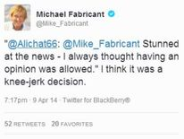 Michael Fabricant tweets