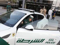 Dubai police Ferrari
