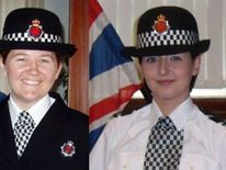 PCs Fiona Bone and Nicola Hughes