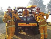 Summer Bay fire crew
