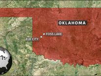 Skeletal remains found in two cars at bottom of Foss Lake Oklahoma