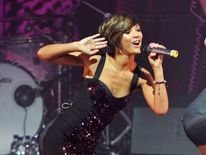 Frankie Sandford of the Saturdays