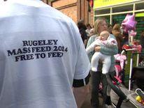 Breastfeeding protest