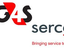 The logos of G4s and Serco