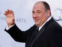 Actor James Gandolfini in 2011