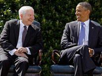 Robert Gates and Barack Obama