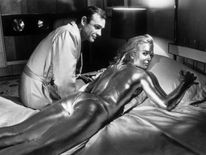 goldfinger painted woman