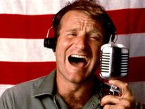 GOOD MORNING VIETNAM, Robin Williams, 1987
