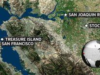 Google Barge map
