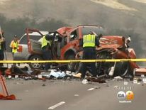 Wrong-Way Crash In California